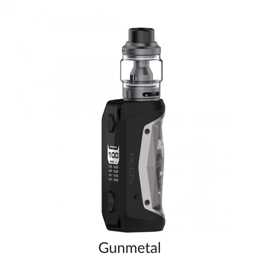 "*CRC* Geekvape Aegis Solo Kit w/ Obelisk Tank ""Gunmetal"" Canada"