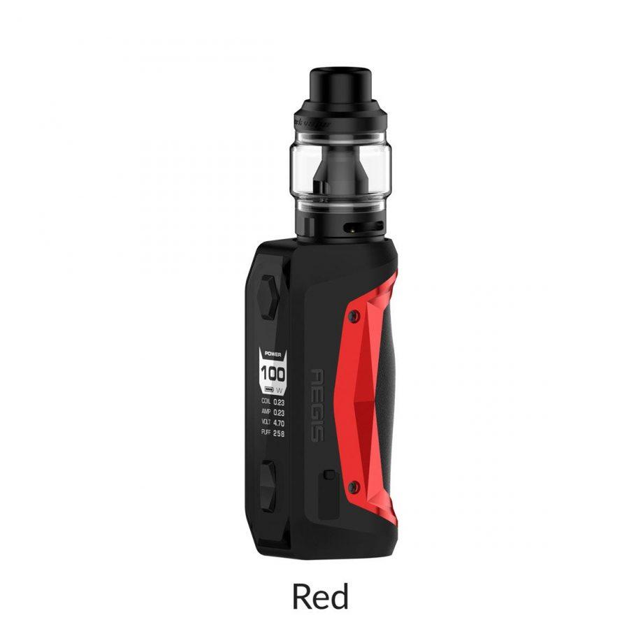 "*CRC* Geekvape Aegis Solo Kit w/ Obelisk Tank ""Red"" Canada"