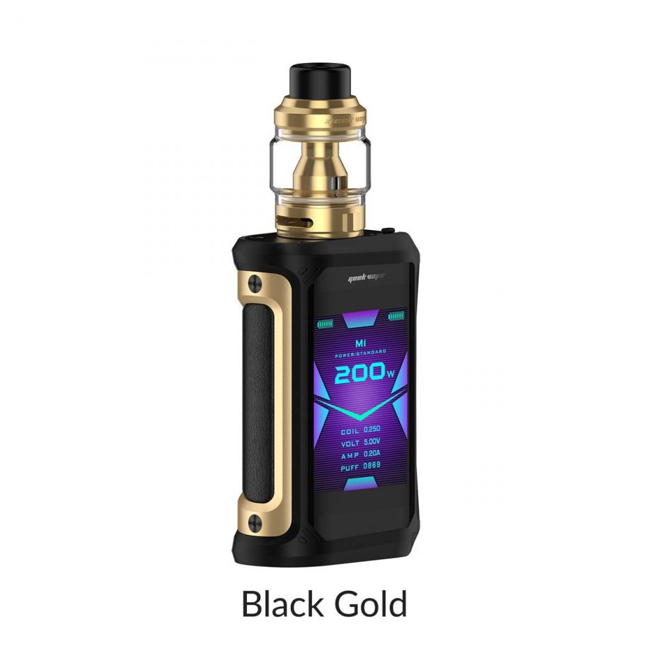 "*CRC* Geekvape Aegis X Kit w/ Obelisk Tank ""Black Gold"" Canada"