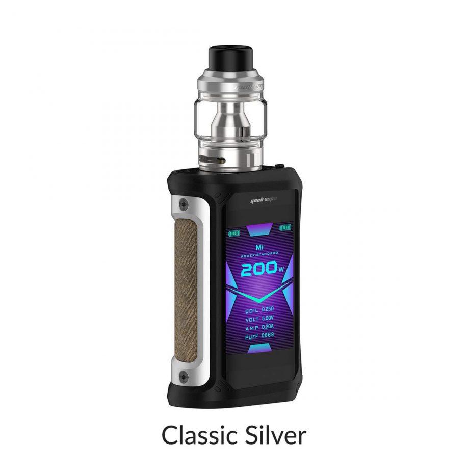 "*CRC* Geekvape Aegis X Kit w/ Obelisk Tank ""Classic Silver"" Canada"