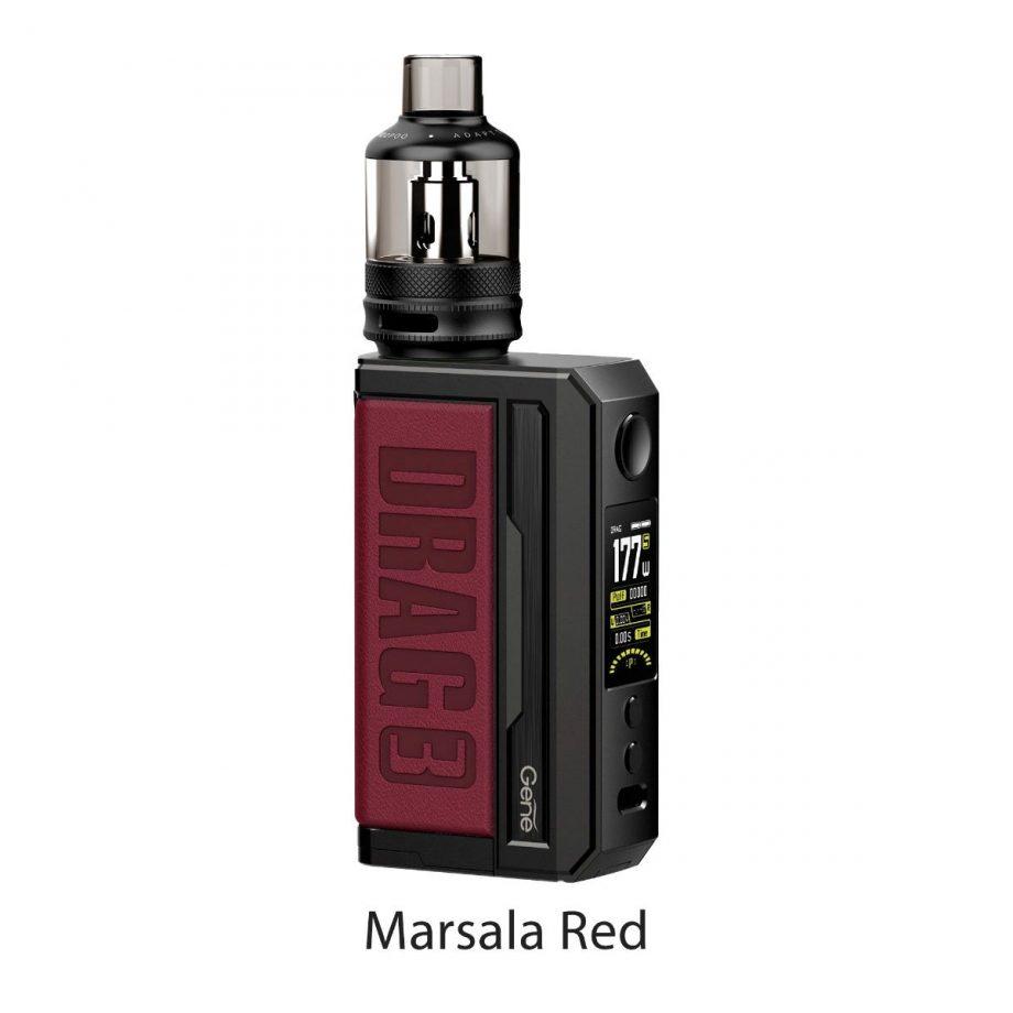 "*CRC* VooPoo Drag 3 Starter Kit ""Marsala Red"" Canada"