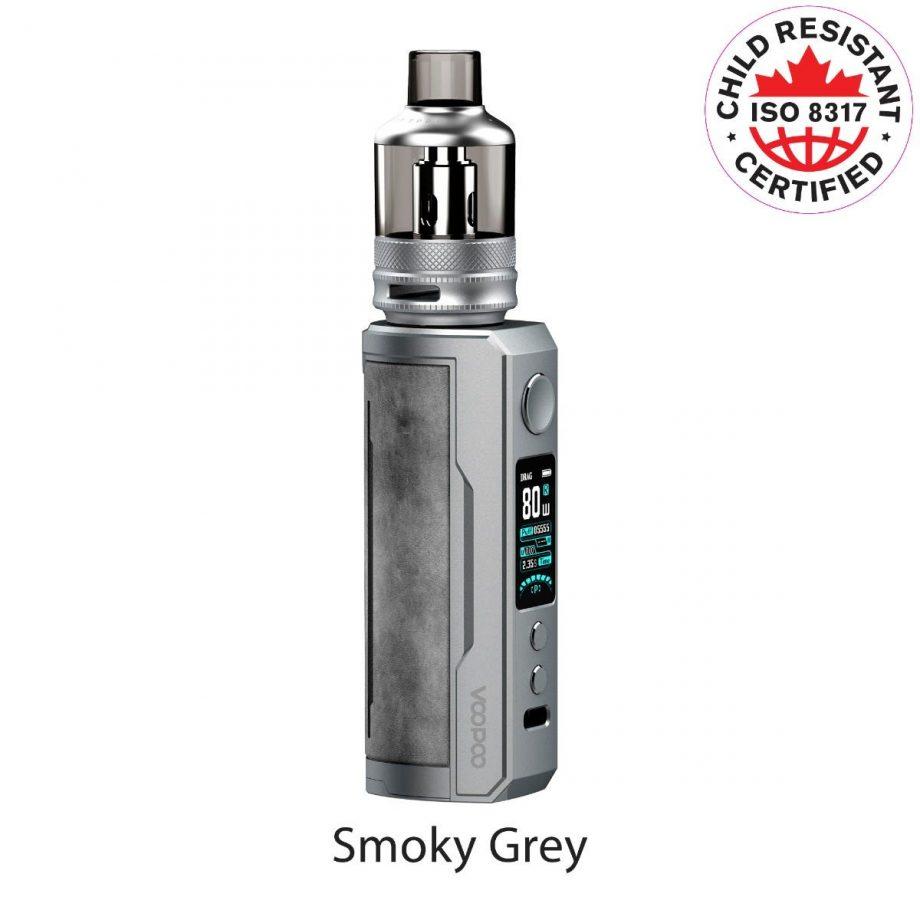 "*CRC* VooPoo Drag X Plus Starter Kit ""Smoky Grey"" Canada"