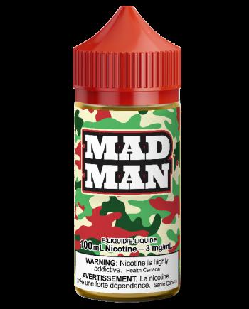 Madman Crazy Apple Eliquid Canada