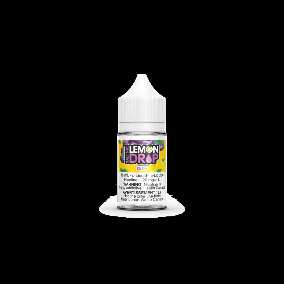 "Lemon Drop Salt Nic ""Grape"" (30ml) Canada"