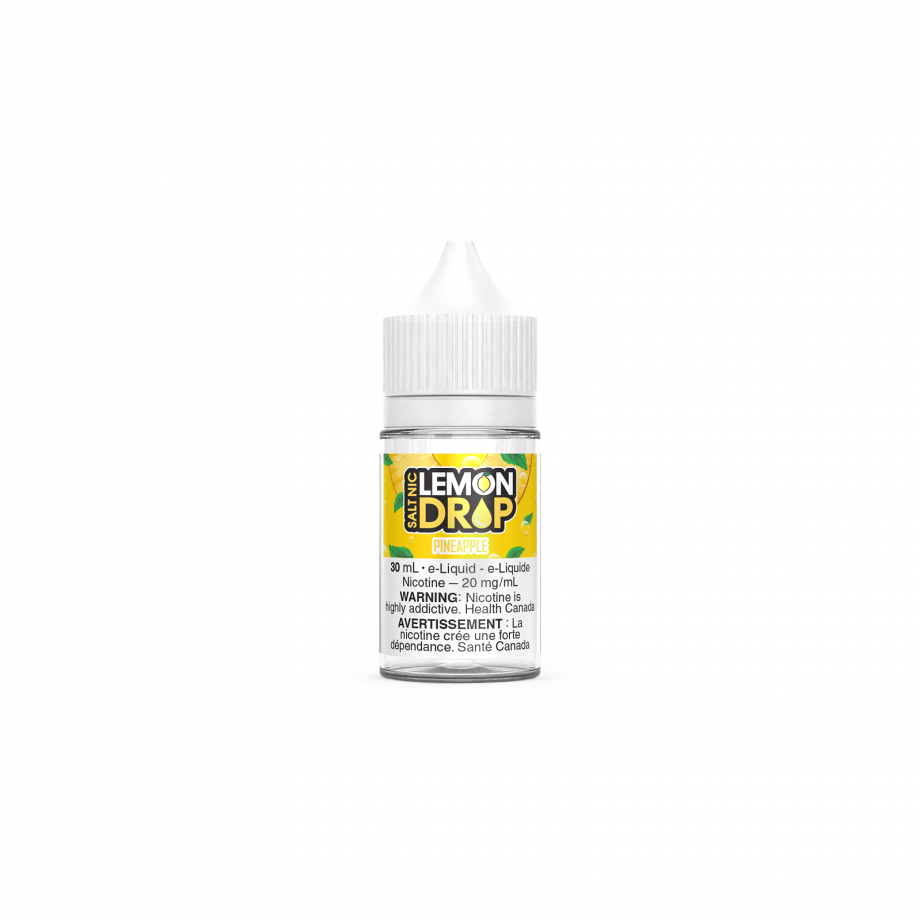 "Lemon Drop Salt Nic ""Pineapple"" (30ml) Canada"