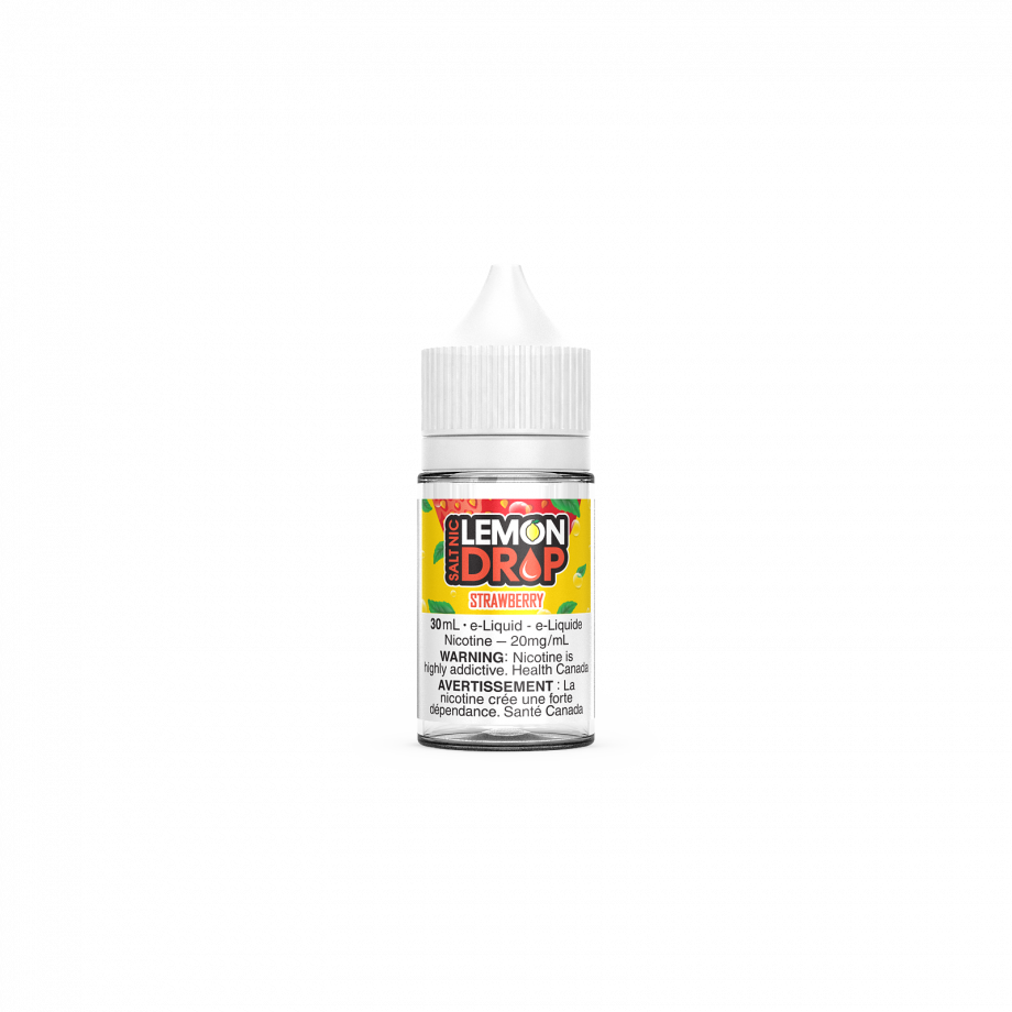 "Lemon Drop Salt Nic ""Strawberry"" (30ml) Canada"