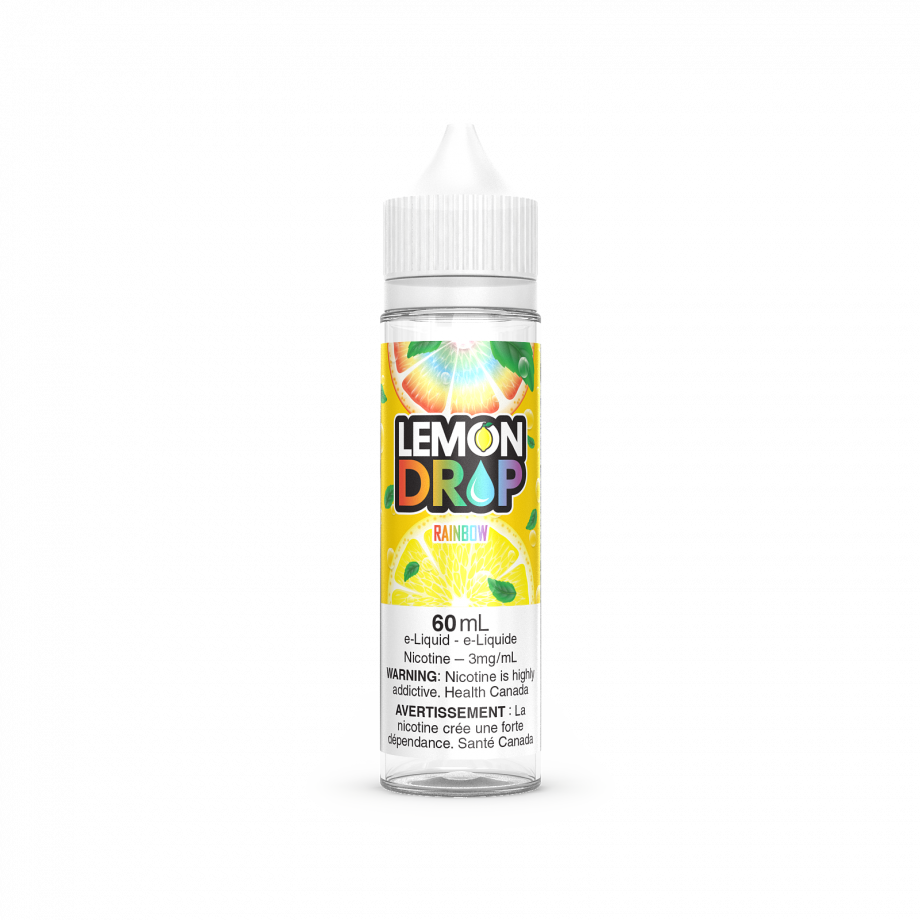"Lemon Drop E-Liquid ""Rainbow"" (60ml) Canada"