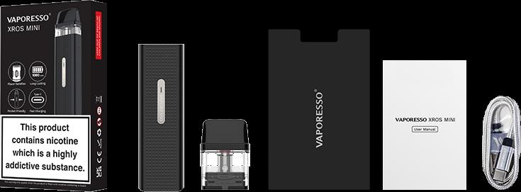 Vaporesso XROS Mini Box Contents Canada